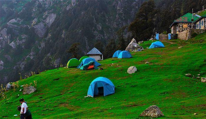 A heavenly trek base camp