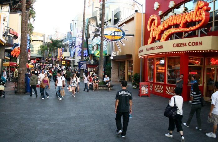 Universal Studios Hollywood view
