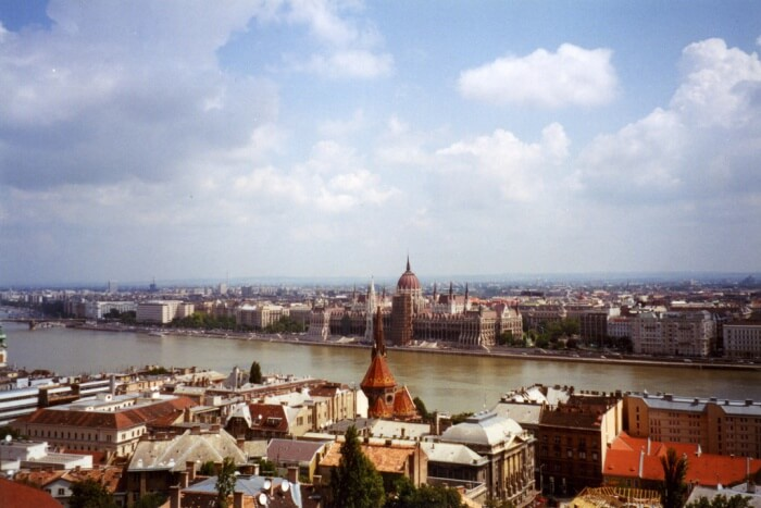 View Of Buda Side From Pest