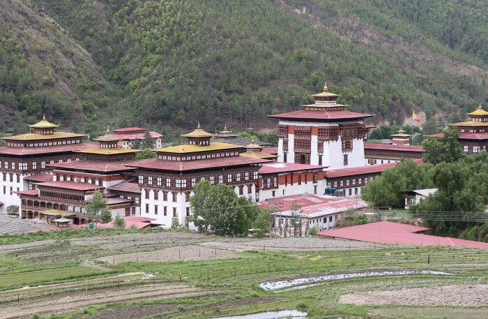 Visit Tashichho Dzong