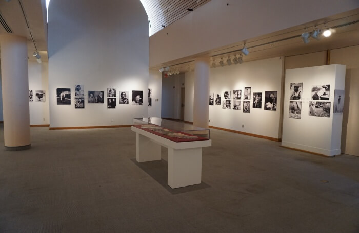 Visit a photography gallery