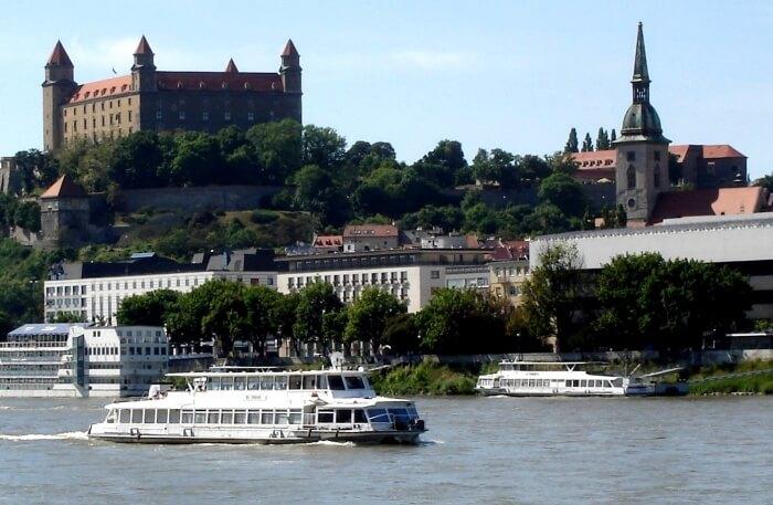 Walking Around Danube River