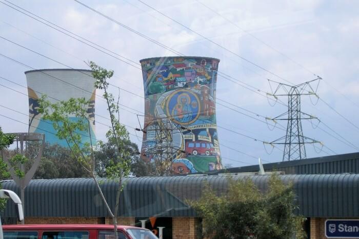Witness the landmark of Soweto, Orlando towers