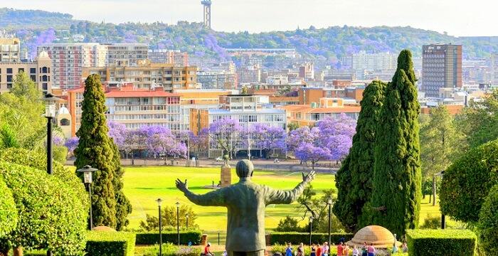 A view of Pretoria