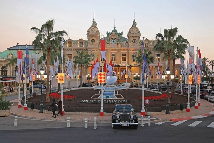 prince palace's in monaco