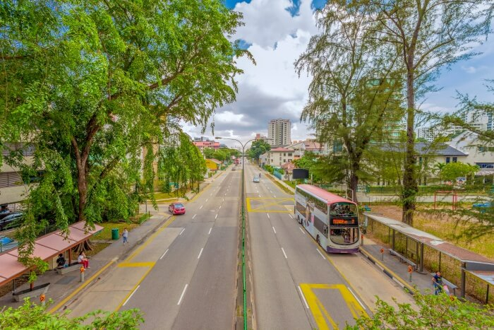 Road in Geylang
