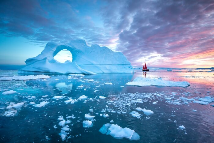 A place in Greenland