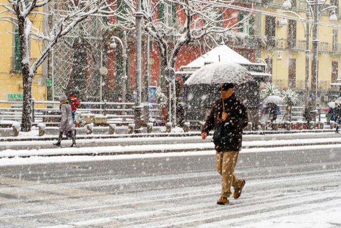 naples in winter