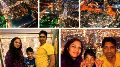 family trip to dubai on christmas