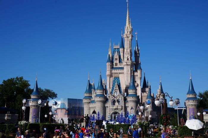 Walt Disney World Magic Kingdom Cinderella's Castle