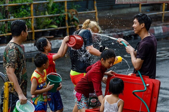 About Water Festival In Thailand