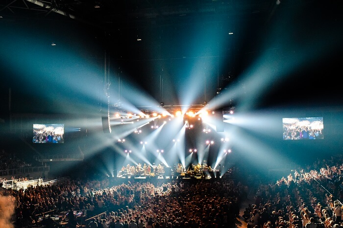 Attend A Concert at the O2 arena in London