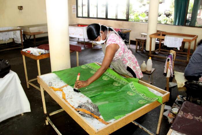Batik Factory in Bali