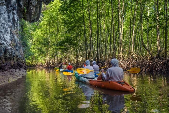 Bon Thor Village Kayaking