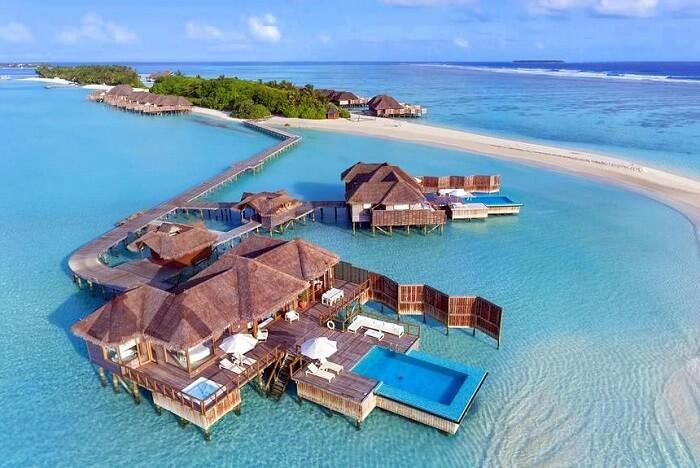 Conrad Maldives Rangali Island in Rangali island of Maldives