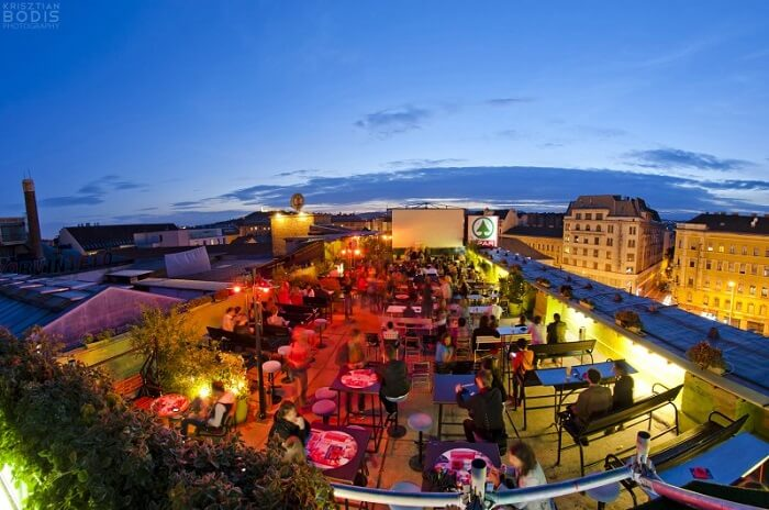 Corvin Club And Roof Terrace
