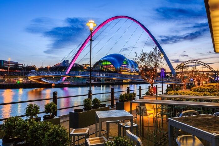 famous bridge in England