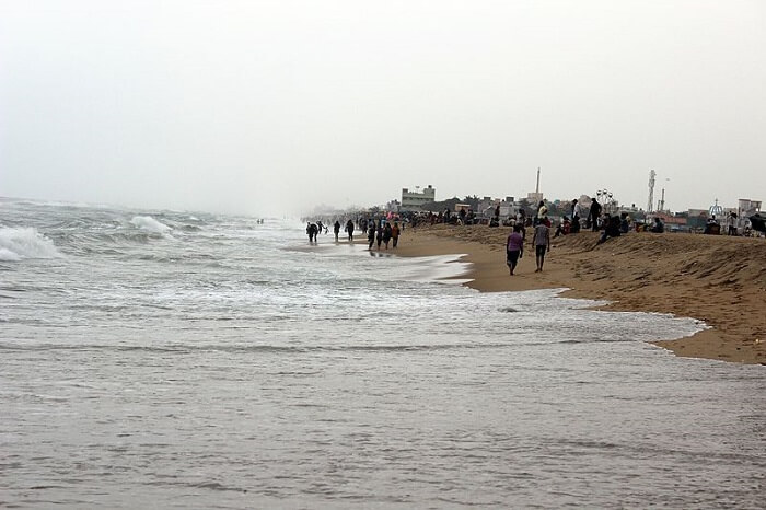 popular beach in Chennai