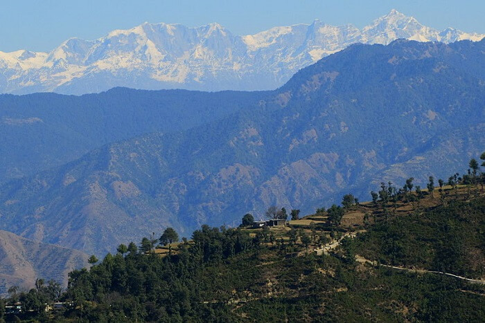beautiful mountains of Uttrakhand