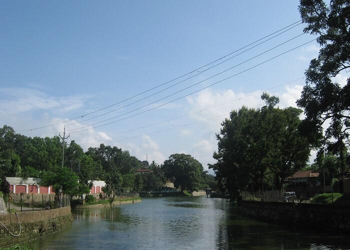view of haflong lake in haflong town