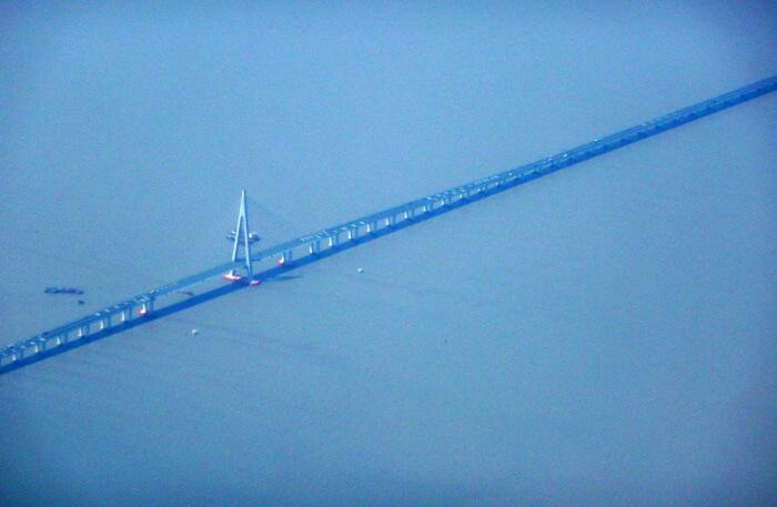 Appearance Of Hangzhou Bay Bridge