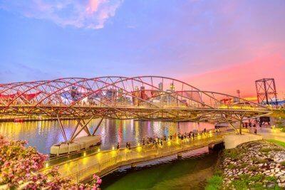 Amazing place Helix Bridge