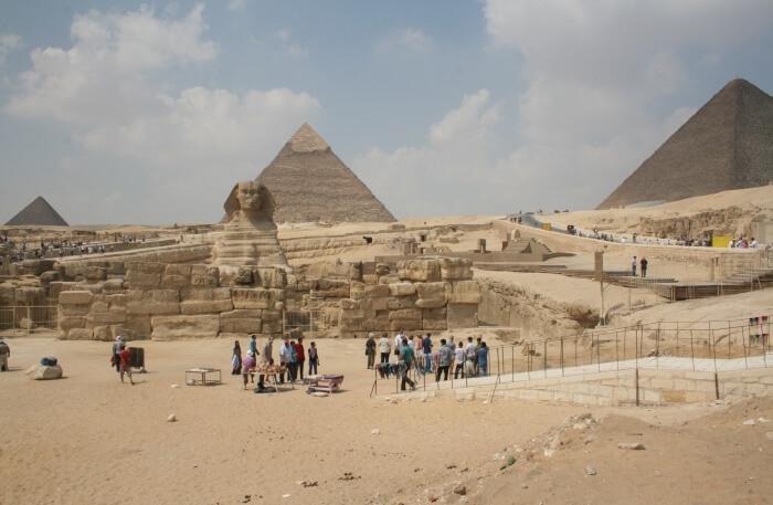 Way to Giza