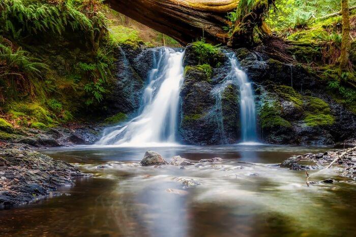 Hulu River Waterfall