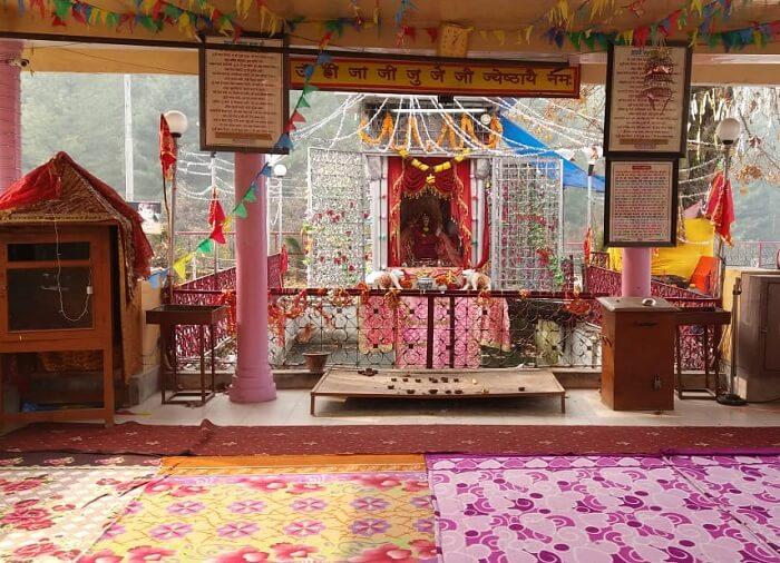 Visit to Zeashta Devi Mandir