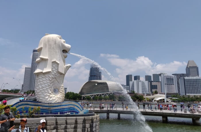 Merlion very important place to visit