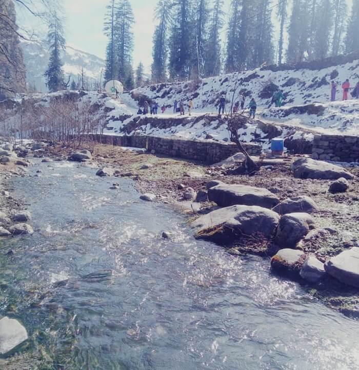 hot springs in manali