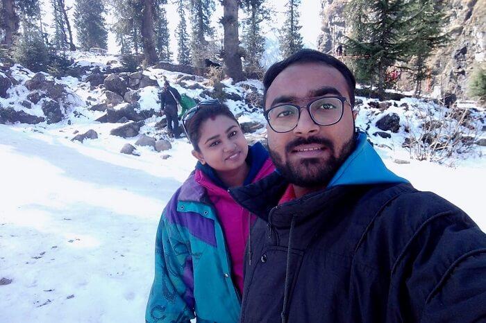 cover- Akash Honeymoon Trip To Himachal