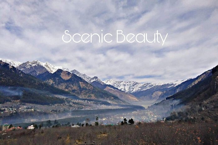 capture the scenic beauty