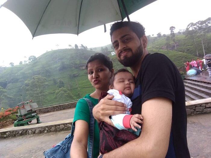 family in sri lanka