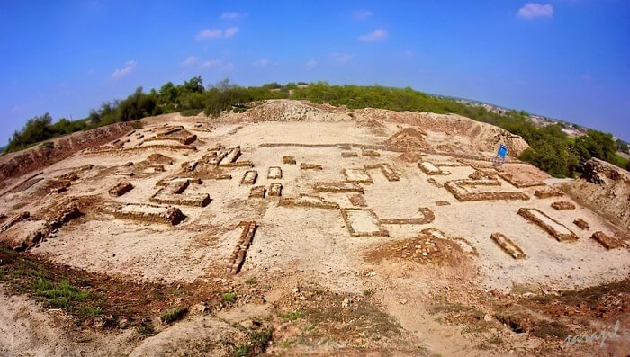 Kalibangan in Hanumangarh Rajasthan