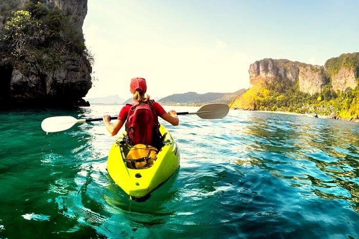 Kayaking In Krabi (Cover)