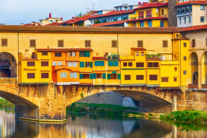 Italian Florence: Ponte Vecchio Bridge Guide: The Love Bridge Of Florence