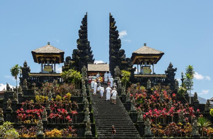 Pura Besakih in Bali
