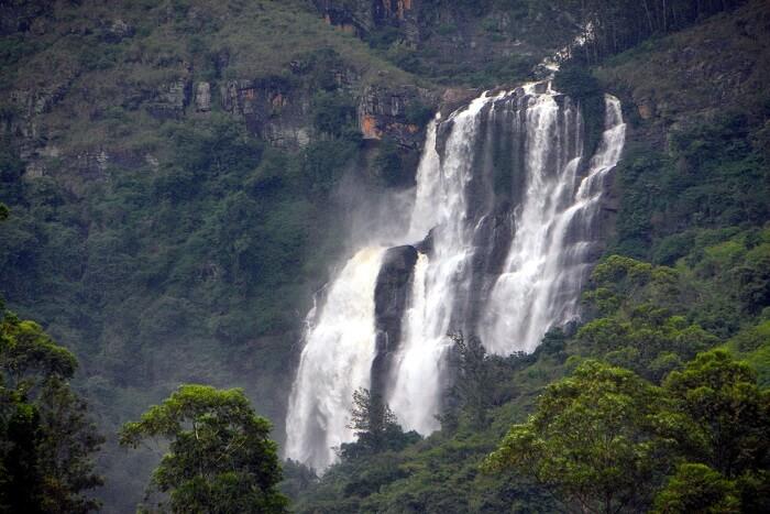 famous waterfalls in Sri Lanka