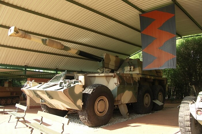 South African National Museum of Military History in Johannesburg Africa