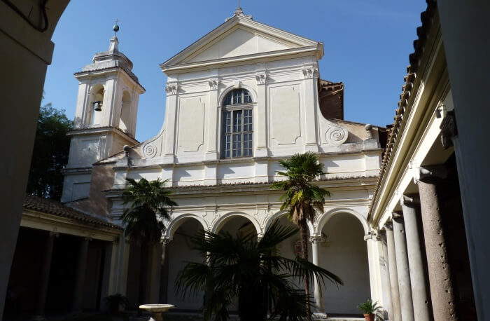 The Basilica of Saint Clemente