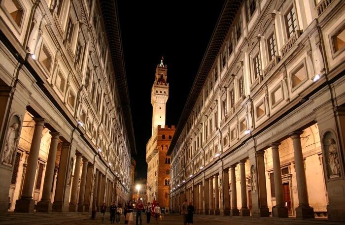 View Of Uffizi Gallery