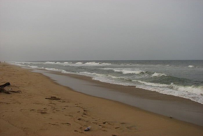 famous beach in Chennai