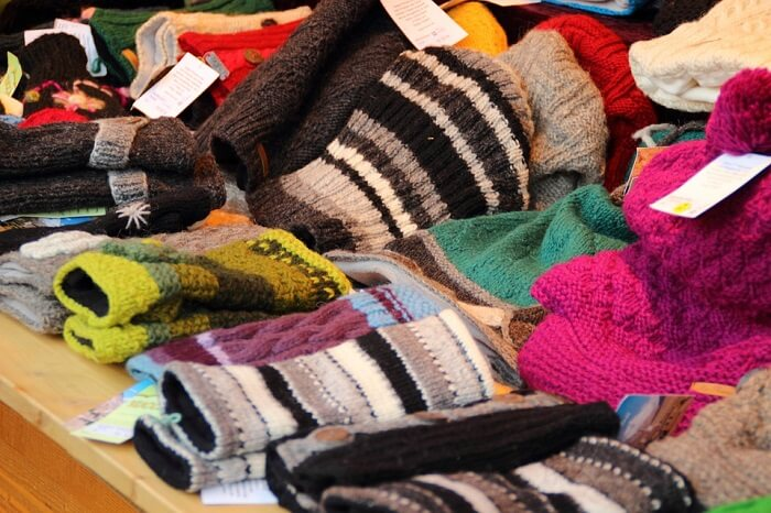 Warm Clothes shopping in greenland
