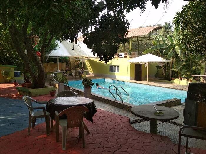 C Cube resort pool