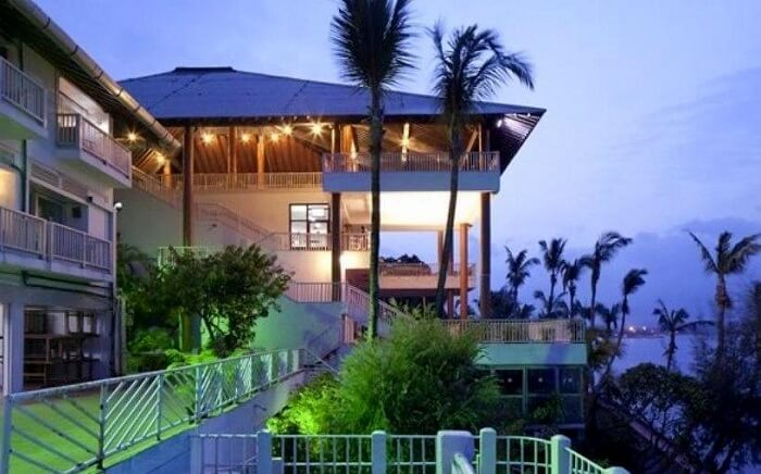view of bay island resort
