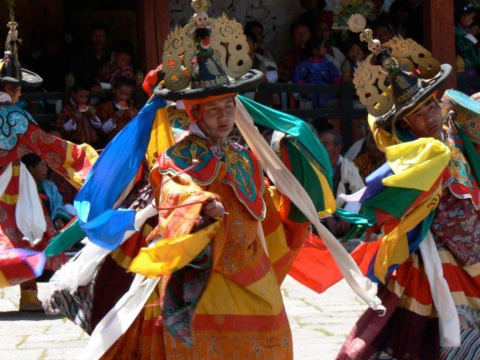 A festival of Thimphu
