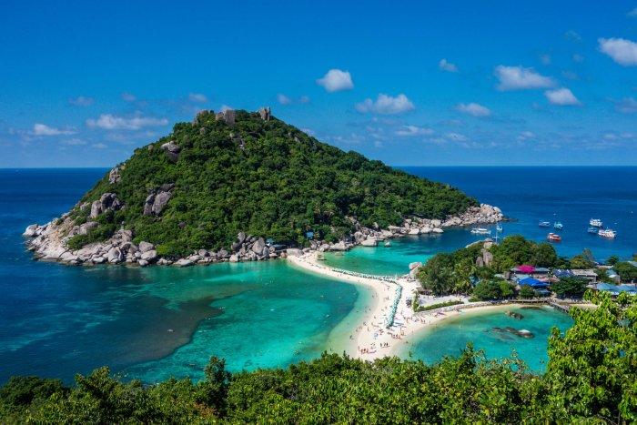 view of ko tao island