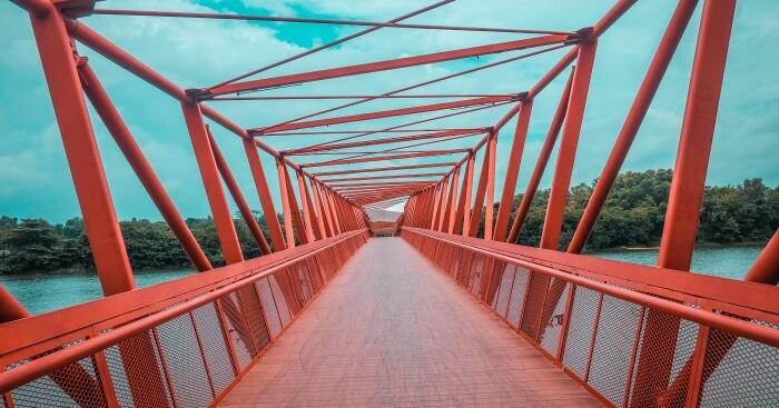 Bridge in Punggol