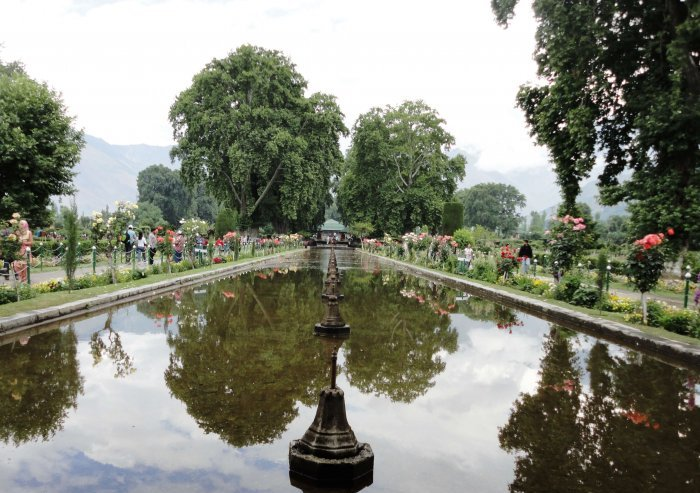 view of beautiful shalimar garden